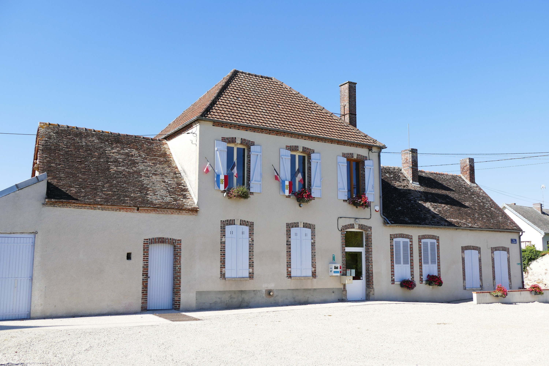 Mairie Saint-Loup-de-Buffigny (Aube, Champagne-Ardenne, France).